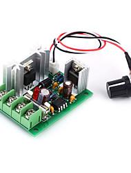 Недорогие -Jtron 12V / 24V / 30V 120W Контроллер / CCM5 PWM DC скорости двигателя управления ж / Предохранители