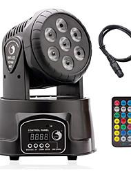 U'King 1conjunto Luzes LED de Cenário DMX 512 Master/Slave Ativo por Som automático Controle Remoto 72W Profissional Alta qualidade para