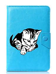 economico -Custodia universale per custodia in pelle per gatto in cartone da 7 pollici, 8 pollici, 9 pollici, tablet pc da 10 pollici