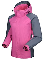 abordables -Femme Veste de Ski Chaud, Etanche, Pare-vent Ski / Randonnée / Ski de fond Chinlon Veste Coquille souple Tenue de Ski