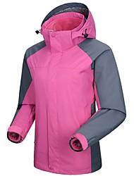 cheap -Women's Ski Jacket Warm Waterproof Windproof Wearable Hiking Cross-country Snow Sports Chinlon