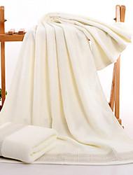 economico -Stile fresco Telo da bagno,Solidi Qualità superiore Cotone puro Lana jacquard Asciugamano