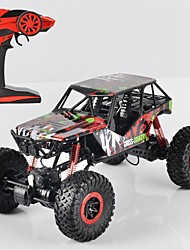 abordables -Coche de radiocontrol  P1001 Todoterreno 4WD Alta Velocidad Drift Car Carro de Carreras Monster Truck Bigfoot Escalada de coches Buggy