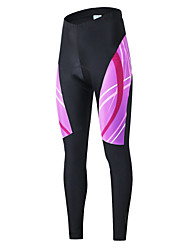 ARSUXEO  Women's 3D Padded Cycling Compression Tights Spring Bike Bicycle MTB Cycling Pants Breathable Quick Dry