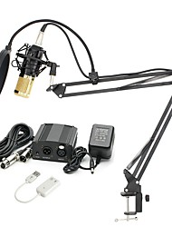 cheap -KEBTYVOR BM800 WiredMicrophoneSets PC, Notebooks and Laptops Condenser Microphone