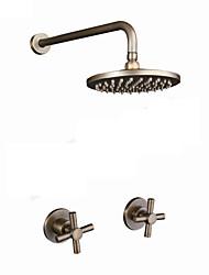 abordables -Robinet de douche - Archaïsant Cuivre antique Douche seulement Soupape céramique