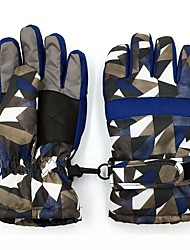 Ski Gloves Kid's Full-finger Gloves Waterproof Nonwoven fabric Ski & Snowboard Winter