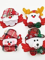 Accessoires de Célébrations Décorations de Noël Cadeaux de noël Articles pour Célébrer Noël Jouets Costumes de père noël Elk Bonhomme de
