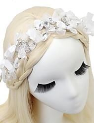 baratos -Cabeceiras de strass chiffon 1pc headpiece classic feminine style