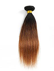 Недорогие -# 30 P1B Прямой силуэт Бразильские волосы Ткет человеческих волос Наращивание волос 0.01kg