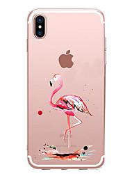 economico -Per iPhone X iPhone 8 iPhone 7 iPhone 7 Plus iPhone 6 Custodie cover Ultra sottile Fantasia/disegno Custodia posteriore Custodia