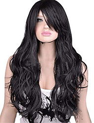 cheap -Women Synthetic Wig Capless Long Black Brown Natural Wigs Costume Wig