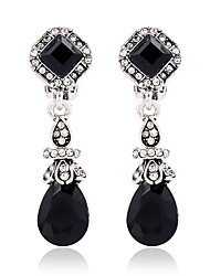cheap -Women's Clip Earrings Crystal Crystal Resin Drop Jewelry For Wedding Party