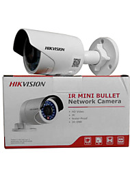 baratos -Hikvision® ds-2cd2012f-iw 1.3mp ir bala rede veio indoor / outdoor (ip66 poe 30m ir h.264 digital wdr suporte wi-fi conjunto de design