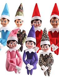 baratos -Bonecos, Figuras de ação Brinquedos & Bonecos de Ação Anime & Manga Tema Fadas Princesa Ternos de Papai Noel Aniversário Conto de Fadas