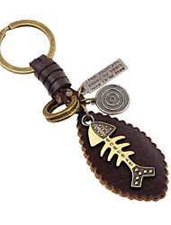 cheap -Keychains Jewelry Leather Alloy Irregular Animals Fashion Daily Going out