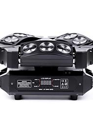 U'King 1set Lampe LED de Soirée DMX 512 Master-Slave Activé par son Auto Activation Musicale 60W pour Pour l'Intérieur Extérieur Soirée