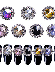 cheap -35 Nail Art Decoration Rhinestone Pearls Makeup Cosmetic Nail Art Design