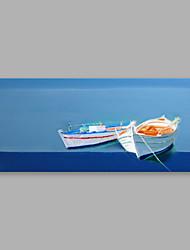 levne -Ručně malované Krajina Horizontální, Moderní Plátno Hang-malované olejomalba Home dekorace Jeden panel
