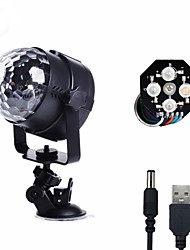 U'King LED Stage Light / Spot Light Sound-Activated Music-Activated 8 for For Home Wedding Club Outdoor Party Stage Portable