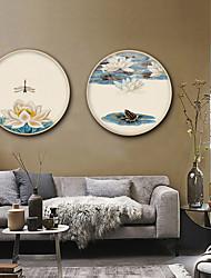 economico -Floreale/Botanical Paesaggio Illustrazioni Decorazioni da parete,PVC Materiale con cornice For Decorazioni per la casa Cornice Salotto