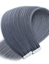 Недорогие -лента в человеческих наращиваниях волос индийские волосы remy человеческие волосы прямые женские 1pack рождественские подарки рождественские