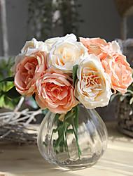 Недорогие -Искусственные Цветы 6 Филиал европейский Розы Букеты на стол