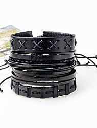 cheap -Men's Bracelet Oversized Rock Hiphop Statement Jewelry Cord Dermis Jewelry Jewelry For Daily Casual