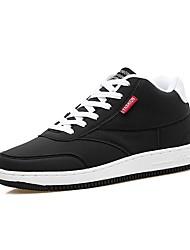 Feminino Sapatos Couro Ecológico Primavera Outono Conforto Solados com Luzes Tênis Para Casual Preto Azul Escuro Fúcsia