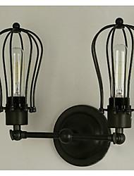 abordables -Applique murale Lumière d'ambiance 40W 220V E27 Bronze antique
