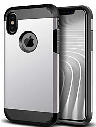 economico -Per iPhone X iPhone 8 iPhone 6 iPhone 6 Plus Custodie cover Resistente agli urti Custodia posteriore Custodia Armatura Resistente PC per