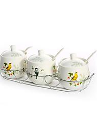 Недорогие -1set Кухня Керамика Хранение продуктов питания