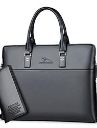 preiswerte -Damen Taschen PU Bag Set 2 Stück Geldbörse Set Reißverschluss für Normal Blau / Schwarz / Braun