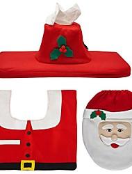 Недорогие -Праздничные украшения Santa Рождественские коврики Наборы карточек для подарков Новогодняя тематика Для вечеринок Красный