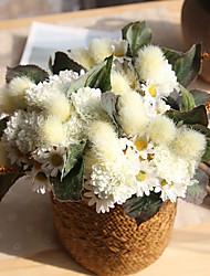Недорогие -Искусственные Цветы 11 Филиал европейский Ромашки Букеты на стол