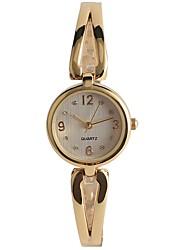 cheap -Women's Casual Watch Fashion Watch Wrist watch Japanese Quartz Casual Watch Alloy Band Casual Gold