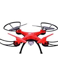 RC Drone H2 4 canali 2.4G Con videocamera HD da 2.0MP Quadricottero Rc Avanti indietro Tasto Unico Di Ritorno Librarsi Con videocamera