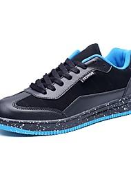 Da uomo Scarpe Cashmere Primavera Autunno Suole leggere Sneakers Per Casual Nero Grigio Black / Blue