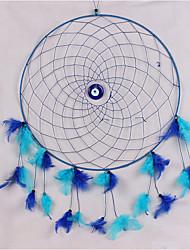 abordables -Decoración de la pared Pestaña de plumas Rústico Arte de la pared,1