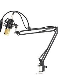Недорогие -KEBTYVOR BM800 Проводное Микрофон наборы Конденсаторный микрофон Ручной микрофон Назначение ПК и ноутбуки