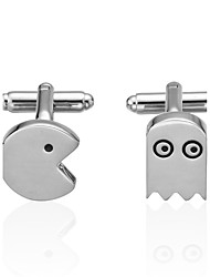 cheap -Silver Cufflinks Brass Novelty Costume Jewelry Men's Costume Jewelry For Wedding / Sports & Outdoor