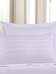 Comfortable Other Material Pillowcase Woven Plain Stripe Yarn-dyed