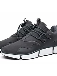 cheap -Men's Shoes PU Spring Fall Comfort Athletic Shoes Walking Shoes For Athletic Khaki Gray Black