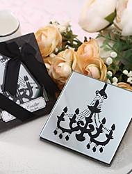Недорогие -Стекло Викторианский стиль Сувенирные подставки под чашку-1 Пьеса / Установить Романтика