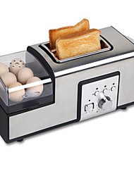 cheap -Breadmaker Multifunction Stainless Steel Toasters 220-240V 850W Kitchen Appliance