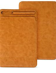 Etui Til Apple iPad 10.5 iPad Pro 12.9 '' Med stativ Flip Heldækkende Anden Hårdt Kunstlæder for IPad pro 10.5 iPad Pro 12.9''