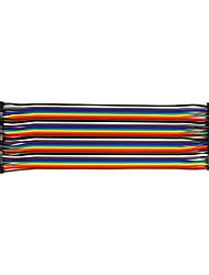 preiswerte -mutter zu mutter 20 cm / 40 p / 2,54 / 10 kupfer verkleidet aluminium linie 24 bl
