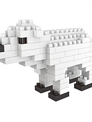 cheap -Building Blocks Toys Animals Bear Cartoon Animal Animals Animal Animals DIY Kids 105 Pieces