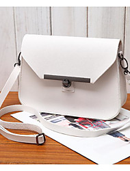 Women Bags PU Crossbody Bag Zipper for Casual All Season Blue Gold White Black Red