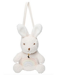 cheap -Fashion Rabbit Stuffed Animal Plush Toy One-Shoulder Backpack Cute Style Lovely Adorable Messenger Bags Cute Kids Rabbit Children's